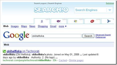 search!o-face