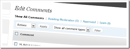 comment-screen
